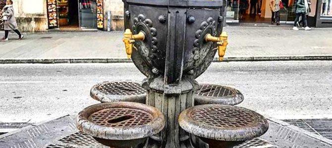 Nous avons tous bu à la fontaine de CANALETAS….