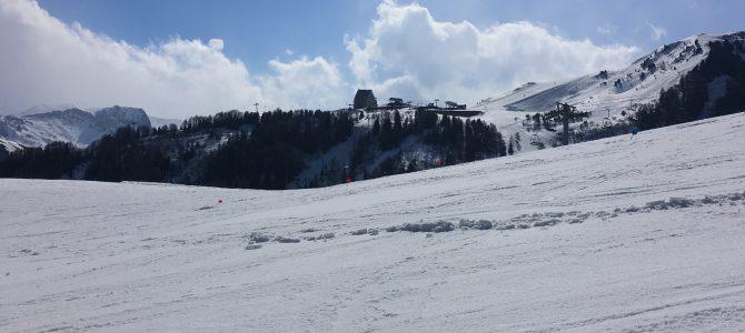 Séjour ski: un quatrième jour placé sous le signe du soleil