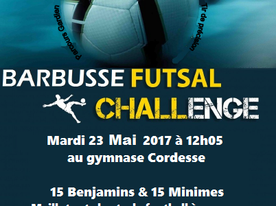 Le Barbusse Futsal Challenge est de retour