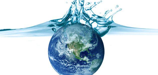 L'eau de la Terre et pleins de posters.