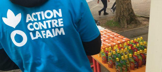 Action Contre la Faim : à l'heure des dons
