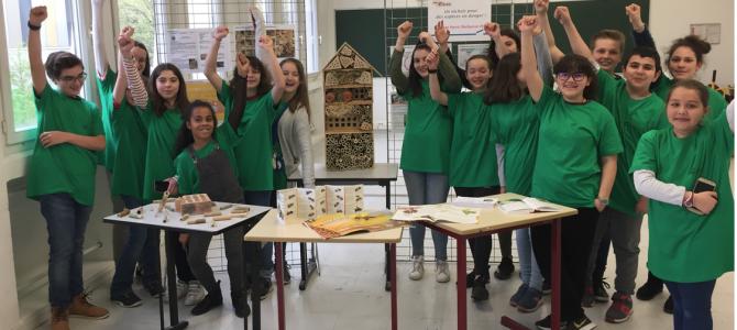 Une belle réussite pour le club Développement Durable au concours «faites de la Science»