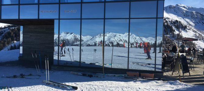 Séjour ski : un mardi ensoleillé