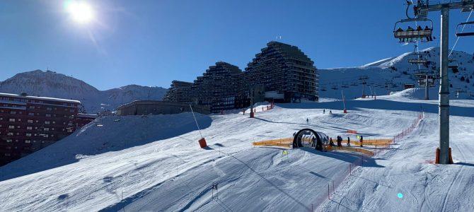 Séjour ski : une première journée placée sous le signe du soleil